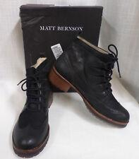 Matt Bernson Maitland Lace Up Lug Sole Combat Ankle Boots Sz. 9.5 MSRP $345