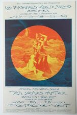 Bill Graham BG 244 Postcard 7/23-26, 7/28-30/ 1970 Fillmore West