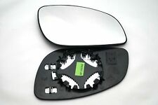 VAUXHALL  OPEL VECTRA 2002+ WING MIRROR GLASS CONVEX HEAT RIGHT UK DRIVER'S SIDE
