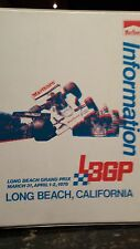Official Press Photography Collection of the 1978 F1 Long Beach Grand Prix