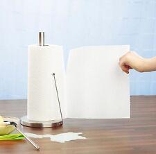 Küchenrollen-Halter aus Edelstahl m. praktischem Abroll-Stopp Küchenrollenhalter