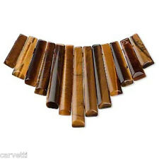 Tiger Eye Mini Collar, Cleopatra Egyptian Fan 13 pieces