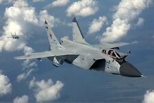 MiG-31 Firefox Mikoyan Fighter Mig 31 Mig31 Display Airplane Wood Model Big