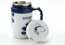 Peanuts Snoopy Vacuum Thermal Bottle thermos flask Drink Mug cup+lid,400ml