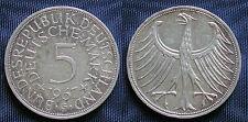 MONETA COIN GERMANIA GERMANY DEUTSCHLAND 5 MARKS 1967 (G) ARGENTO SILBER SILVER