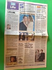 Moonlighting CYBILL SHEPHERD Bruce Willis Freddy Krueger '87 USA TODAY Newspaper