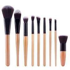 9Pcs Cosmetic Brush Makeup Brush Sets Foudation Blush Brush Eyeshadow Brush