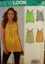 Miss New Look 0945 6245 Pattern Top Tunic UNCUT Size 6-8-10-12-14-16-18-20-22-24