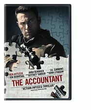 The Accountant (DVD 2016) NEW* Drama, Thriller, Crime* NOW SHIPPING !