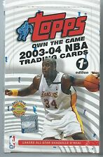 FANTASTIC! TOPPS 2003-04 FIRST EDITION WAX BOX FIND A LEBRON JAMES #221 ROOKIE