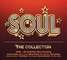 SOUL THE COLLECTION 60 Definitive Hits Various Artists NEW 3X CD CLASSIC R&B