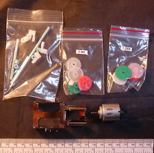 2 in 1 gearbox kit - with electric motor - 2 ratios 1:60 or 1:288
