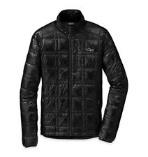 OUTDOOR RESEARCH OR MEN'S FILAMENT DOWN JACKET - BLACK LARGE FREE SHIPPING