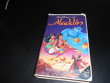 RARE (ALADDIN) VHS WALT DISNEY'S BLACK DIAMOND ORIGINAL TAPE.