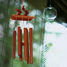 Carillon à Vent Bambou Tubes Windchime Décorative Jardin Maison Cadeau Chanceux