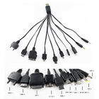 1PC 10 in 1 Universal Multi USB Charger Cable For Mobile Phone iPod Samsung PSP