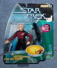 STAR TREK WARP FACTOR SERIES 1 CAPTAIN JEAN-LUC PICARD FIGURE SET