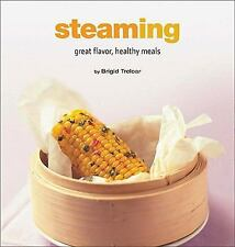 Steaming: Great Flavor, Healthy Meals (Healthy Cooking Series)-ExLibrary
