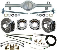 CURRIE 84-01 JEEP XJ CHEROKEE REAR END & WILWOOD DISC BRAKES,LINES,CABLES,AXLES