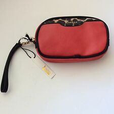 Kate Landry Camera Case, Leopard Colorblock, Red, Divider in bag