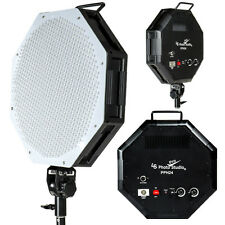 Dimmable Large LED Octagon Continuous Lighting Photography Video Light