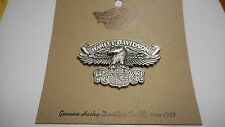 LARGE HARLEY DAVIDSON OLD CLASSIC PIN (( EAGLE PIN)) APROX 2 1/2 INCHES WIDE