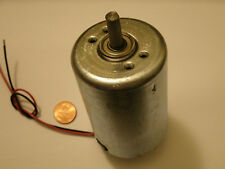 SALE Giant Electric DC Hobby Motor, 2700RPM, 12 Volt, Permanent Magnet Generator