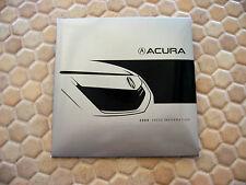 ACURA OFFICIAL RL TL TSX  MDX RDX FULL PRESS KIT CD BROCHURE 2009 USA EDITION