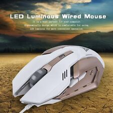 Professional Wired Computer Mouse Mice Gaming Game Mouse LED Luminous Mouse XP