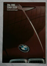 altes original Prospekt BMW 316 318i 320i 323i 1983 TOP Zustand !!