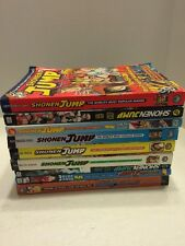 Shonen Jump Manga Comics Magazines Lot Of 9