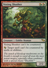 MTG VEXING SHUSHER ASIAN EXC - SILENZITORE IRRITATE - SHM - MAGIC