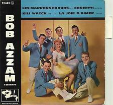"""BOB AZZAM. KILI WATCH. RARE FRENCH EP 7"""" 45 1961 CHA CHA CHA. ROCK"""