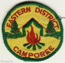 BOY SCOUTS Patch -  Eastern District Camporee