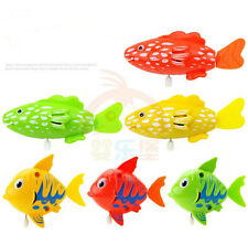 1PC Wind Up Moving Swimming Bathroom Fish Baby Kids Children Bath Play Tub Toys