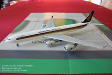 JC Wing Singapore Airlines Airbus A340-500 Leadership in Old Color Model 1:200