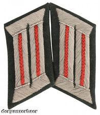 Wehrmacht Kragenspiegel M36 Offizier Artillerie, rot