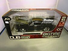 JADA 1/24 BIGTIME MUSCLE COLLECTORS CLUB BLACK 1967 SHELBY GT500 KR NEW *READ*