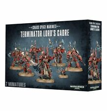 Warhammer 40k Chaos Space Marines Terminator Lords Cadre NIB