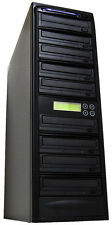 8 Burner 14X Blu-ray BDXL CD DVD Duplicator + 500GB + USB Multi Copier Recorder