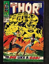 Mighty Thor #139 ~ To Die Like a God ~ 1966 (Grade 5.0) WH