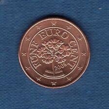 Autriche 2008 - 5 centimes d'Euro - Pièce neuve de rouleau -