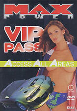 MAX POWER - VIP PASS - DVD - REGION 2 UK