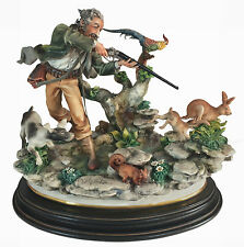 Capodimonte 'The Hunter' by Enzo Arzenton Laurenz Classic Sculpture Italy
