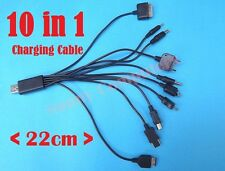 10 in 1 Universal USB Charger Cable for Mobile Phone iPhone iPad PSP MP3 Tablets