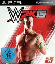 SONY PS3 WWE 2k15 2015 15 Wrestling WCW WWF WW deutsch OVP komplett
