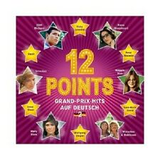 12 Points-Grand-Prix-hits in tedesco, vol.2 (Cliff Richard/Ilanit/+) CD NUOVO