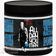ALL DAY YOU MAY 465g BCAA 10:1:1 Aminodrink Muskelaufbau Rich Piana 5% Nutrition