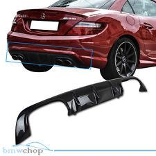 Carbon Mercedes Benz SLK R172 SLK200 SLK350 A Rear Bumper Diffuser Convertible●