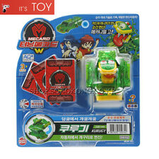 Turning Mecard W KURUGY Green ver Frog Transformer Korean Robot Car Toy Sonokong